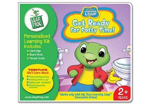 My Own Learning Leap: Personalized Learning Kit - Get Ready For Potty Time