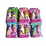 Disney Princess Favorite Moments Doll 6 Set- Cinderella Snow White Belle Sleeping Beauty Tiana And Ariel