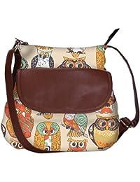 Faces Of Owl Obo, Ethnic Hobo Bag, Aztec Hobo Bag, Native Style Bag, Large Hobo Bag, Zipper Closure Bag, Large...