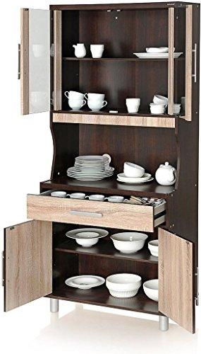 Royal Oak Crockery Cabinet (Brown)