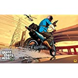 GTA - Grand Theft Auto V (H) Game Poster - 12x19 Inch Art Material