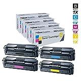 Clever Supplies Compatible Toner Cartridges 4Color Set For Samsung CLP 415(CLT-K504S CLT-C504S CLT-Y504S CLT-M504S...