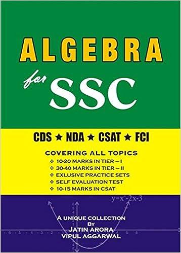Algebra for SSC