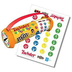 Click to buy portable M and Ms Twister the Game from Amazon!