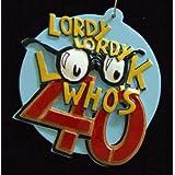 Lordy Lordy Look Whos 40 Birthday Bead Necklace New Orleans Mardi Gras Spring Break Cajun Carnival Festival