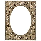 Shreenath Handicraft Wooden Wall Mirror (35 Cm X 45 Cm, Pink) - B013WRS0JK