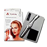 Bi-feather King Eye Brow Hair Remover & Trimmer For Women + Free Carrying Pouch And A Cleaning Brush