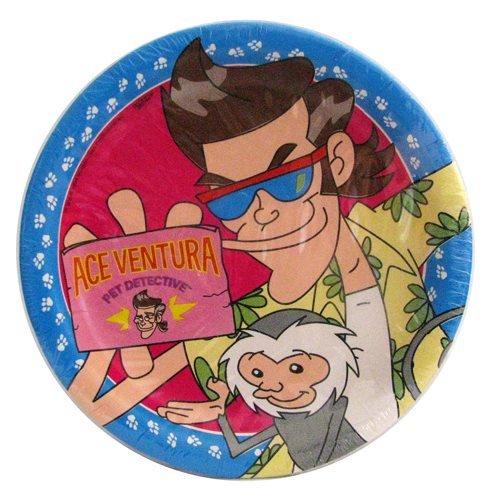 Ace Ventura Pet Detective Large Paper Plates (8ct)