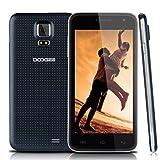 "Doogee DG310 - Smartphone libre Android (pantalla 5"", cámara 5 Mp, 8 GB, Quad-Core 1.3 GHz, 1 GB RAM), negro"