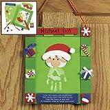 Handprint Santa Hanging Craft Kit - Crafts for Kids & Decoration Crafts