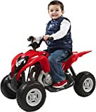 Aria Child Rollplay Honda ATV 6V Battery Ride-On Vehicle, Red