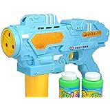 Generic Soap Bubble Gun Outdoor Toy , 2 Color Plastic Bubble Machine Toy Gift For Children