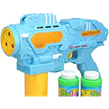 Generic Soap Bubble Gun Bubble Blower Outdoor Toy,2 Color Plastic Bubble Machine Toy Gift For Children