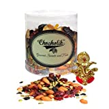 Chocholik's Cocktail Party Dry Fruits Mix 300gm With Ganesha Idol - Diwali Gifts