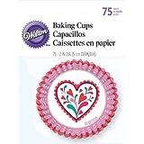 Wilton Standard Baking Cups Valentine 75-Pack