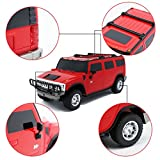 Bienen Fashion Hummer H2 SUV Red 1:27 Electric Full Function Children Toy Remote Control Car Best Christmas Birthday Gift