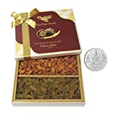 Chocholik Dry Fruits - Super Saver Attractive Dry Fruits With 5gm Pure Silver Coin - Diwali Gifts