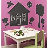 Wallies Room Décor Sticker House/Tree Mural