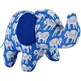 Cloth/Fabric Elephant Baby In Blue Hand Block Printed Fabric (Small Size)