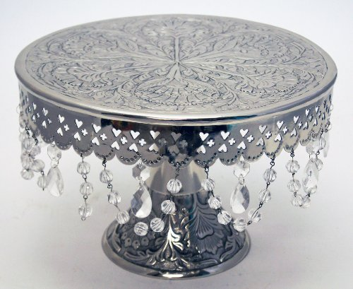 wedding cake stand hire reading giftbay wedding cake stand pedestal silver finish 14 25631