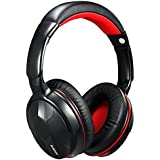 Ausdom M04s Bluetooth4.0 Stereo Wired / Wireless Stereo Headphones With Built-in Microphone And NFC (Black & Red)