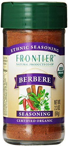 Frontier Berbere Seasoning ORGANIC 2.3 oz Bottle