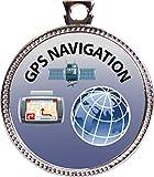 Keepsake Awards GPS Navigation Silver Award Disk