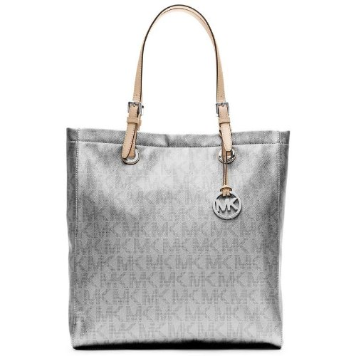 850dd78e10 Michael Kors Tote Bag (Silver) (MKBLSIL44569) Best Deals With Price ...