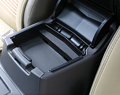 Salusy Car Center Console Armrest Box Glove Box Secondary Storage For Honda CRV CR-V 2012-2016