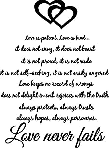 Amazon.com - #3 Love is patient, love is kind. It does not