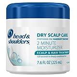 Head And Shoulders Dry Scalp Care 2 Minute Moisturizer Scalp & Hair Treatment 7.6 Fl Oz