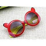 Generic Generic Baby Sunglasses Boys Girls Child Cute Cartoon Glasses Eyewear Summer Kids Goggles-parent