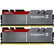 G.SKILL 16GB 2 X 8GB TridentZ Series DDR4 PC4-25600 3200MHz For Intel Z170 Platform Desktop Memory F4-3200C16D...