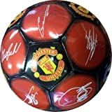 Manchester United Signature Football Play Ball Size 5 PVC Fans Accessory