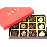 ZOROY Assorted Chocolate Signature Red Small 12 Assorted Chocolates