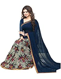 Saree (Women's Clothing Saree For Women Latest Design Wear Sarees Collection In Velvet Material Latest Saree With...
