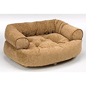 """Amazon.com : Double Bolster Dog Bed Size: Large (42"""" L x"""