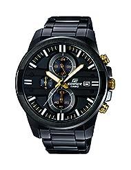 Casio Edifice Analog Black Dial Men's Watch - EFR-543BK-1A9VUDF(EX...