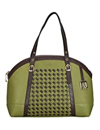 Adamis Beautiful Designed Handbag (Green_B717)