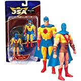 DC Direct Series 1 Justice Society of America JSA 2 Pack 6 Inch Tall Action Figure Set - GOLDEN AGE ATOM