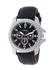 FINEX Analog Black Dial Men's Watch GLSBK-05 (black)