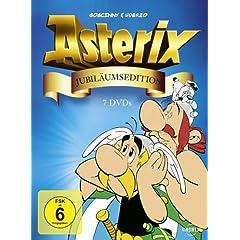 Asterix Jubiläumsbox (7 DVDs) für knapp 28 €