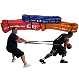 """Pull Up, Strength, Resistance, Powerlifting Bands, #4 Purple (25-80 Lbs) 1-1/8"""" X 41"""" Long"""