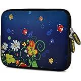 Amzer 7.75 Inch Neoprene Sleeve Blue Spring For Samsung GALAXY Tab 2 7.0, Google Nexus 7, Amazon Kindle Fire HD...