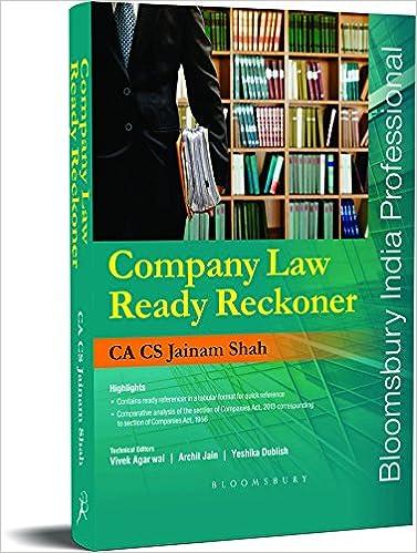 Companies Law Ready Reckoner-Book- CA, CS Jainam Shah