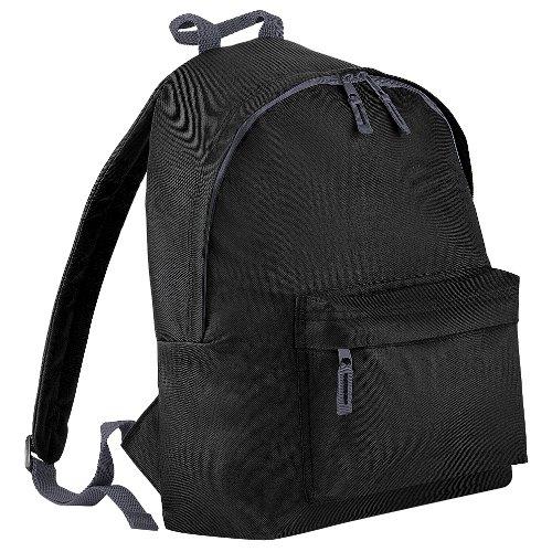 Bagbase - Mochila modelo Fashion (18 litros) (Talla Única/Negro)