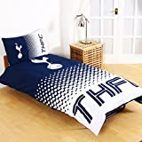 Tottenham Hotspur FC Fade Reversible Single Duvet Cover and Pillow Case Set