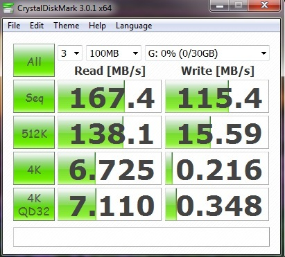 CrystalDiskMark Benchmark Speed Test