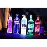 LED Flashing Bottle Sticker 3m For Bottle - Bar Accessories (Pack Of 5) (5, White)