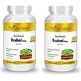 Natures Velvet Combo Of Brahmi Pure Extract (500 Mg), 60 Capsules